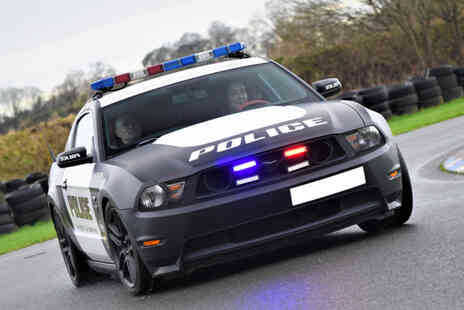 PSR Experience - Three lap V8 GT Mustang Police Car junior driving experience with a passenger lap - Save 76%