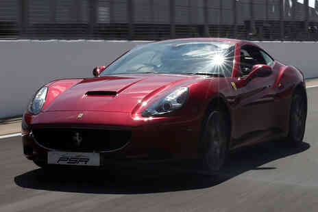 PSR Experience - One lap supercar driving experience in a Ferrari - Save 61%
