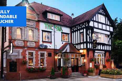 The Royal Oak - Two nights Cheshire getaway with breakfast - Save 60%