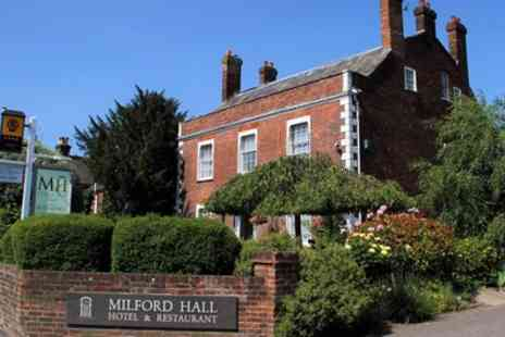 Milford Hall & Spa - 1 or 2 Nights for Two with Breakfast - Save 0%