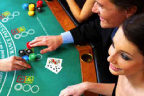 Gala Casino - Meal for Two with Wine and Gaming Chip - Save 55%