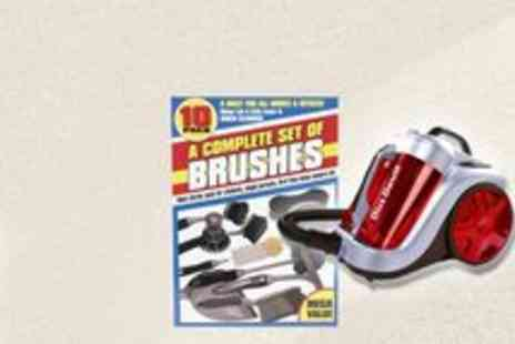 Dirt Devil - Dirt Devil Vacuum With Extra 10 Brush Pack - Save 62%