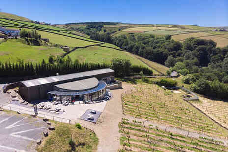 Holmfirth Vineyard - Sparkling afternoon tea - Save 36%