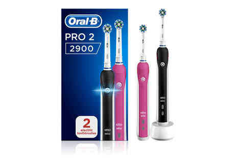 Avant Garde - Pack of two OralB rechargeable electric toothbrushes - Save 10%