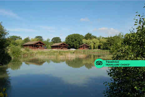 Watermeadow Lodges - A Crewkerne, Somerset lodge stay for two with hot tub access - Save 41%