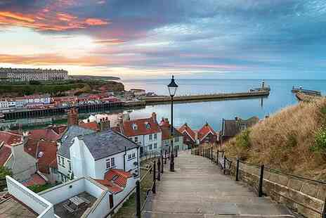 Guillemot House - A Whitby seaside apartment stay for two people with a breakfast hamper - Save 56%