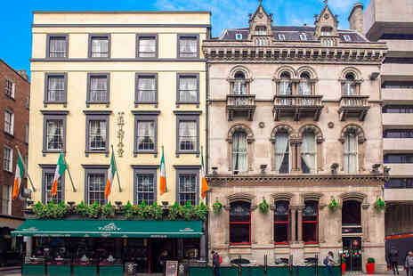 Dublin Citi Hotel - A Dublin stay for two people with cocktail each on arrival, continental breakfast - Save 26%