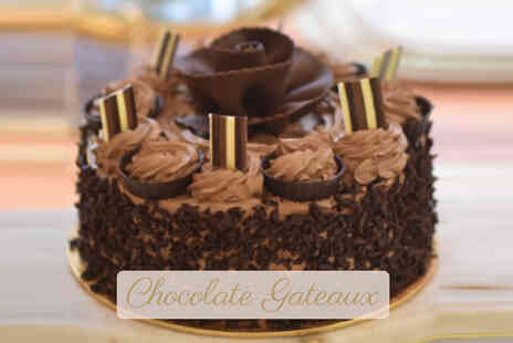 Cafe De Pierre - 8 Inch handmade cake - Save 38%