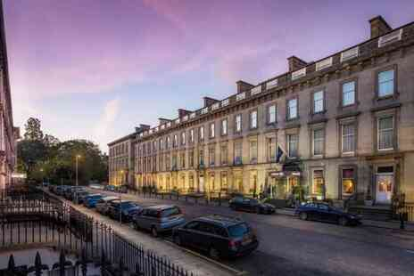 Edinburgh Grosvenor Hotel - A central Edinburgh stay for two people with breakfast - Save 43%