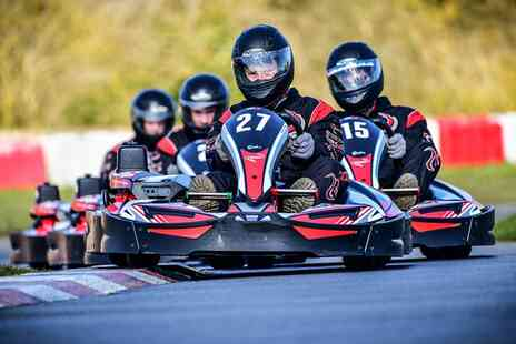 Whilton Mill Outdoor Circuit - 50 Lap Karting Adventure for Two - Save 0%