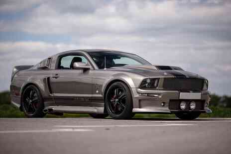 Drift Limits - An 8 lap Eleanor Shelby GT500 mustang driving experience - Save 50%