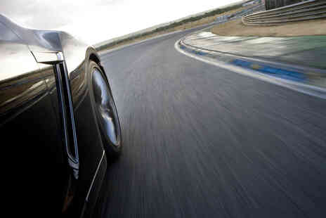 Drift Limits - An 8 lap Aston Martin V8 Vantage driving experience - Save 50%
