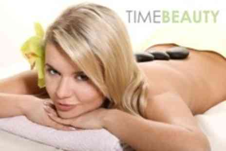 Time Beauty - Two Hour Spa Visit With Choice of 30 Minute Massage or Body Scrub Plus Pool and Sauna Access - Save 0%