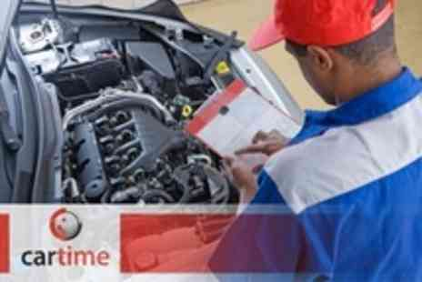 Car Time - 62 Point Car Service With Mini Valet Plus Oil and Filter Change - Save 59%