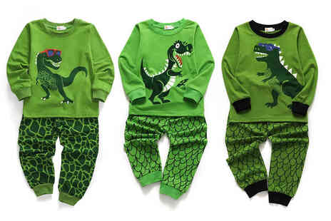 Domo Secret - Kids dinosaur pyjama set - Save 0%