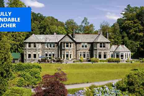 Merewood Country House Hotel - Lake Windermere country house stay with cream tea - Save 51%