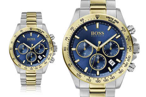 Best Watch Company - Hugo Boss mens Hero Sport Lux watch - Save 0%