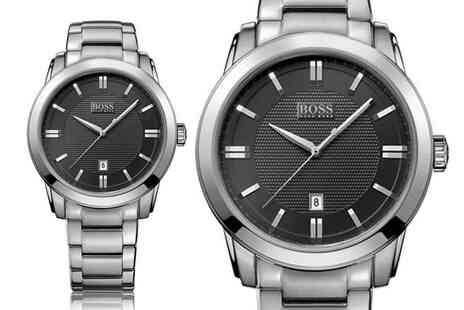 Best Watch Company - Stainless steel Hugo Boss mens watch - Save 0%