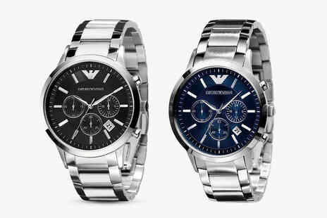 CJ Watches - Mens Emporio Armani luxury watch - Save 67%