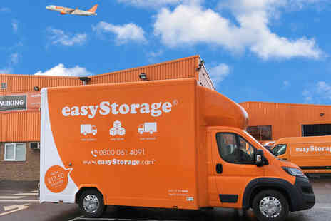 easyStorage - £75 to Spend on easyStorage collection and self storage services - Save 93%