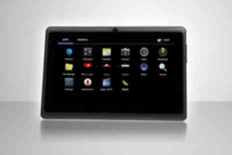 VivaCity Stores - 7 inch Android touch screen Tablet PC with camera and 4GB storage - Save 77%