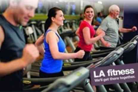 LA fitness - Ten Individual Day Passes Including Exercise Class Access - Save 89%