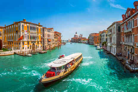 Weekender Breaks - A Venice, Italy hotel stay with return flights from eight airports - Save 26%