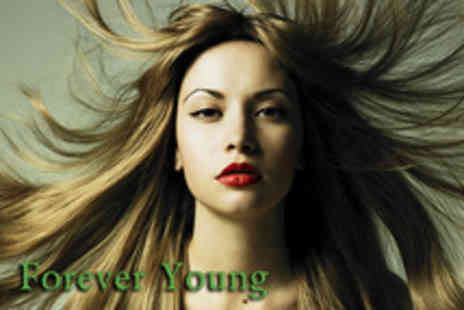Forever Young - Full head of human hair extensions in the colour of your choice - Save 52%