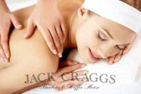 Jack Craggs - Back, Neck and Shoulder Massage With Facial - Save 75%