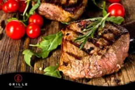 Grille Steakhouse - Four Grille Steakhouse Course Tasting and Prosecco For Two - Save 50%