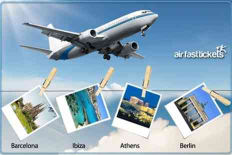 AirFastTickets - Return Flights From London To 25 International Cities - Save 50%