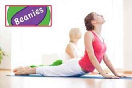 Beanies - Eight Yoga Classes - Save 72%