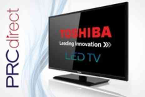 PRC Direct - Toshiba 40 Full HD 1080p Slim LED TV - Save 24%
