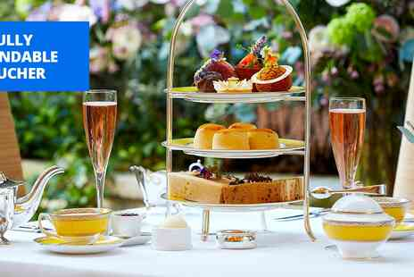 The Goring - Champagne afternoon tea for 2 at Five star London hotel - Save 20%