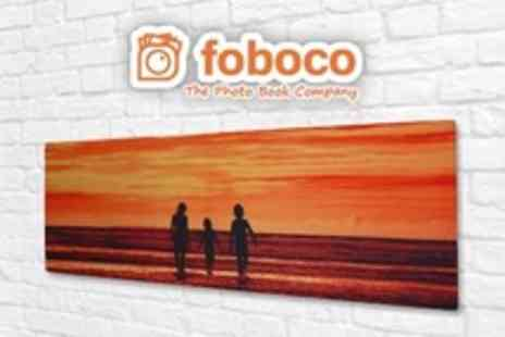 Foboco - Personalised Panoramic Canvas Prints - Save 50%