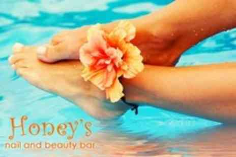 Honeys Nail and Beauty Bar - Luxury Pedicure and Callus Treatment - Save 60%