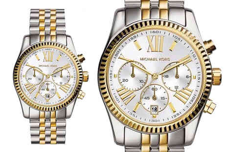 CJ Watches - Michael Kors MK5955 lexington ladies chronograph watch - Save 55%