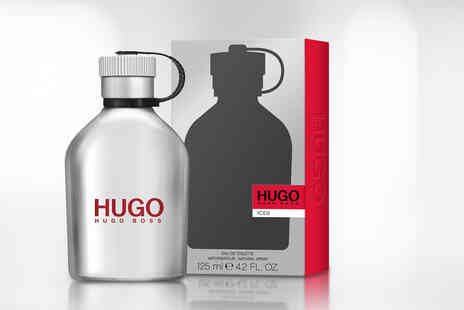 Beauty Scent - 125ml bottle of Hugo Iced EDT - Save 60%
