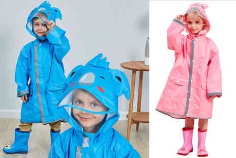 Forefront Trading - Childs hooded raincoat - Save 58%