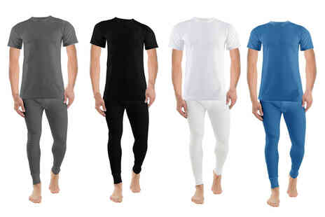 Groundlevel - Thermal long john and T-shirt set - Save 77%