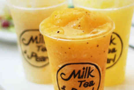 Milk Tea and Pearl - Four Smoothies - Save 50%