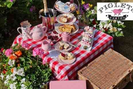 Piglets Pantry - Classic or Vegetarian Afternoon Tea Box Delivery - Save 37%
