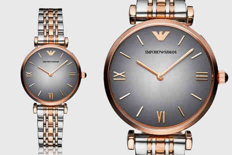 CJ Watches - Womens Emporio Armani AR1725 watch - Save 70%