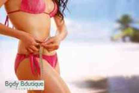 Body Boutique Clinics - 3 sessions of Lipo Light on your choice of 2 areas - Save 77%