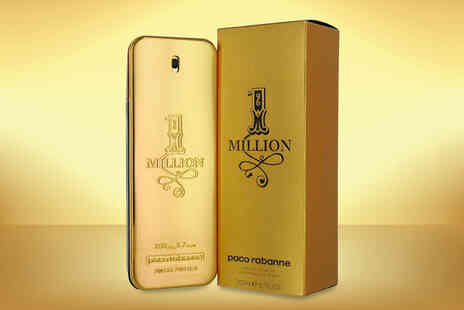 Beauty Scent - 200ml bottle of Paco Rabanne 1 Million eau de toilette for men - Save 41%