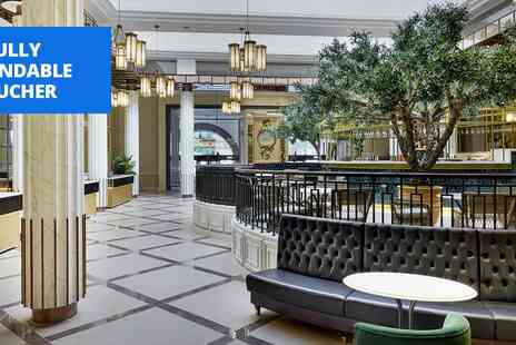 The Midland - Iconic Manchester hotel stay with breakfast - Save 45%