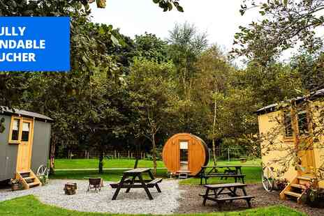 The Hamlet Samlesbury Hall - Luxe shepherd's hut stay for 4 - Save 55%