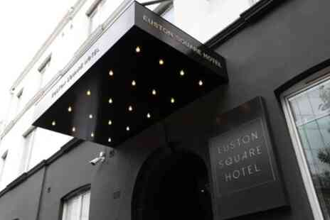 Euston Square Hotel - Double Room for Two with Breakfast - Save 30%