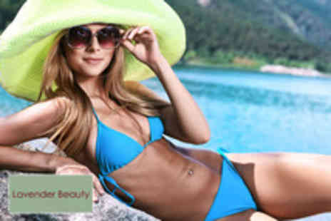 Lavender Beauty - Three 20 minute sessions of Ultrasonic Laser Lipolysis on three areas - Save 94%