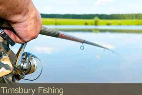 Timsbury Fishing - Day Of Trout Fishing on the World Famous River Test - Save 60%